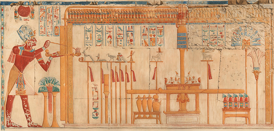 THE TEMPLE OF SETI I AT ABYDOS Amice Calverley\'s Record of the ...